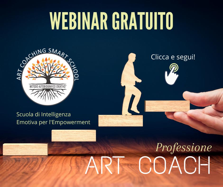 Professione Art Coach - Webinar Gratuito