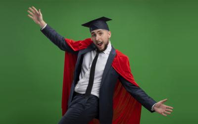 Ma lei è sicuro di essersi laureato?