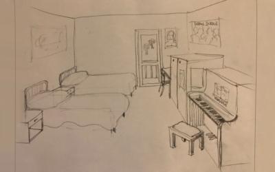 Ricordo d'infanzia: la prima cameretta nel disegno autobiografico