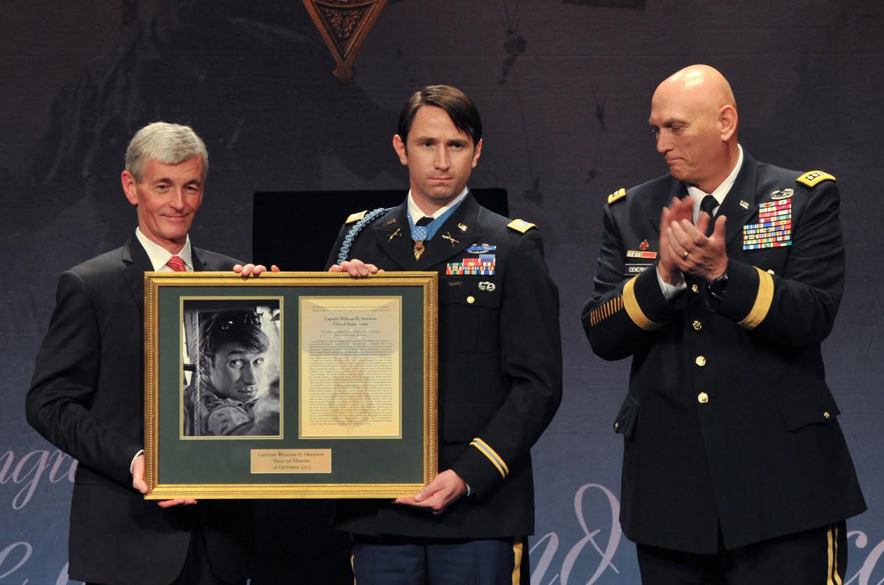 William Swenson leader leadership sacrificio
