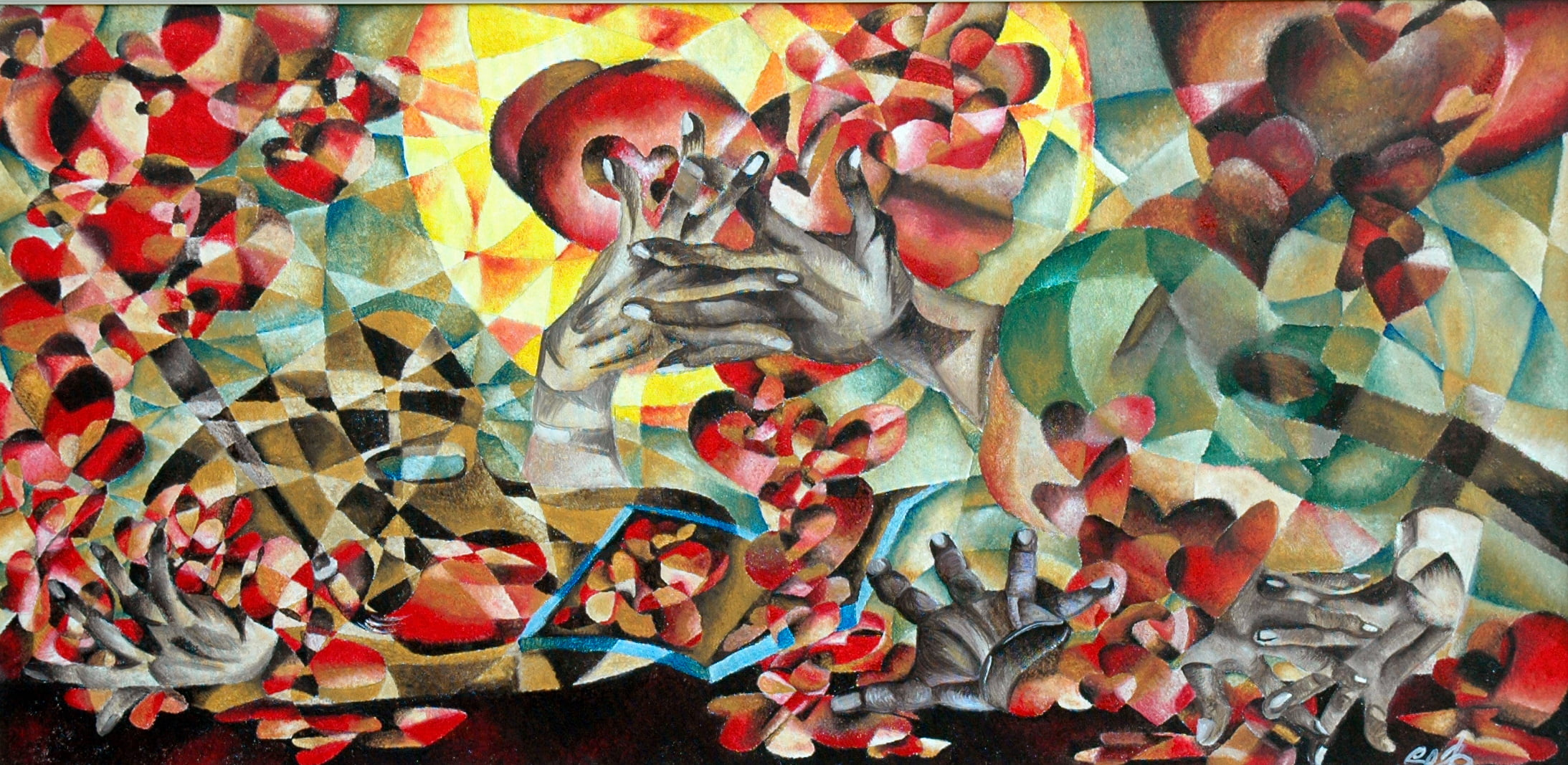Cuori connessi: archivio di emozioni in arte dalla pandemia