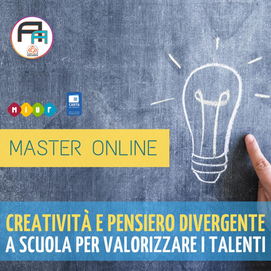 creatività e pensiero divergente per valorizzare i talenti